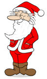 Smiling santa claus Royalty Free Stock Images