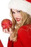 Smiling Santa helper Royalty Free Stock Photography