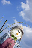 Smiling Scarecrow Stock Photo
