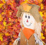 Smiling Scarecrow Royalty Free Stock Photo