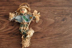 A smiling scarecrow Stock Images