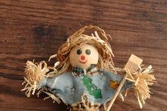 A smiling scarecrow Royalty Free Stock Photo