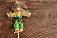A smiling scarecrow Stock Photography