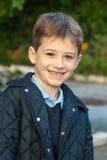 Smiling school boy Stock Photo