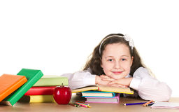 Smiling school girl Royalty Free Stock Photography