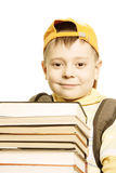 Smiling schoolboy Royalty Free Stock Photography