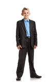 Smiling schoolboy in uniform Stock Photography