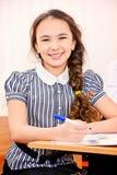 Smiling schoolgirl Royalty Free Stock Photos