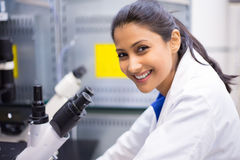 Smiling scientist, doctor Stock Photos