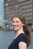 Smiling self-assured mature woman Stock Photos