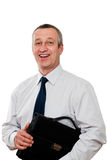 Smiling senior businessman Royalty Free Stock Images