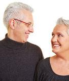 Smiling senior citizens Royalty Free Stock Photography