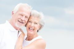 Smiling senior couple Royalty Free Stock Images