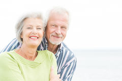 Smiling senior couple Royalty Free Stock Image