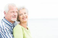 Smiling senior couple Royalty Free Stock Photos