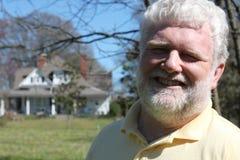 Smiling Senior Man Royalty Free Stock Image