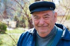 Smiling senior man Stock Photos