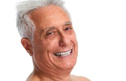 Smiling senior man. royalty free stock image
