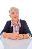 Smiling Senior Woman Stock Images