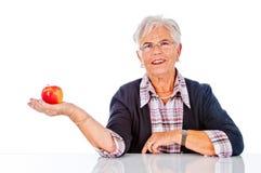 Smiling Senior Woman Royalty Free Stock Photo