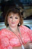 Smiling Senior Woman royalty free stock image