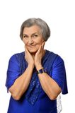 Smiling senior woman Royalty Free Stock Image