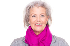 Smiling senior woman Royalty Free Stock Photography