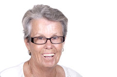 Smiling Senior Woman Stock Photography
