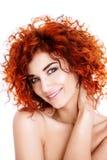 Smiling sensual gir Royalty Free Stock Photography