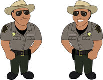 A officer Royalty Free Stock Photos