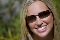 Smiling In Shades Stock Images