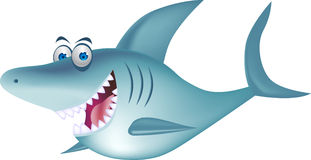 Smiling shark Royalty Free Stock Image