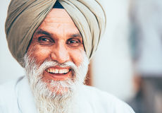 Smiling sikh portrait Stock Photography