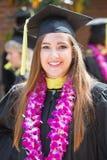 Smiling Single College Graduate Royalty Free Stock Photos