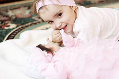 Smiling sister Royalty Free Stock Photography