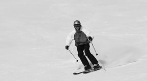 Smiling skier Royalty Free Stock Photography