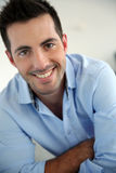 Smiling smart guy Royalty Free Stock Photo