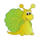 Smiling snail cartoon Royalty Free Stock Image