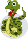 Smiling snake cartoon Royalty Free Stock Photography