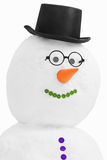 Smiling snowman Royalty Free Stock Image