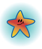 Smiling Star Royalty Free Stock Photo