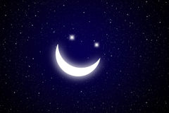Smiling star Stock Images