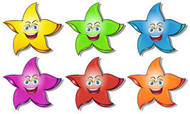 Smiling stars Stock Photos