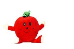 Smiling strawberry Stock Image