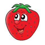 Smiling strawberry Royalty Free Stock Image