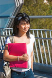 Smiling student Royalty Free Stock Images