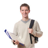 Smiling student Royalty Free Stock Image