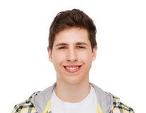 Smiling student boy Royalty Free Stock Photos