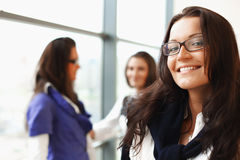 Smiling student Stock Image