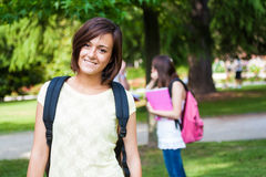Smiling student portrait Royalty Free Stock Photo
